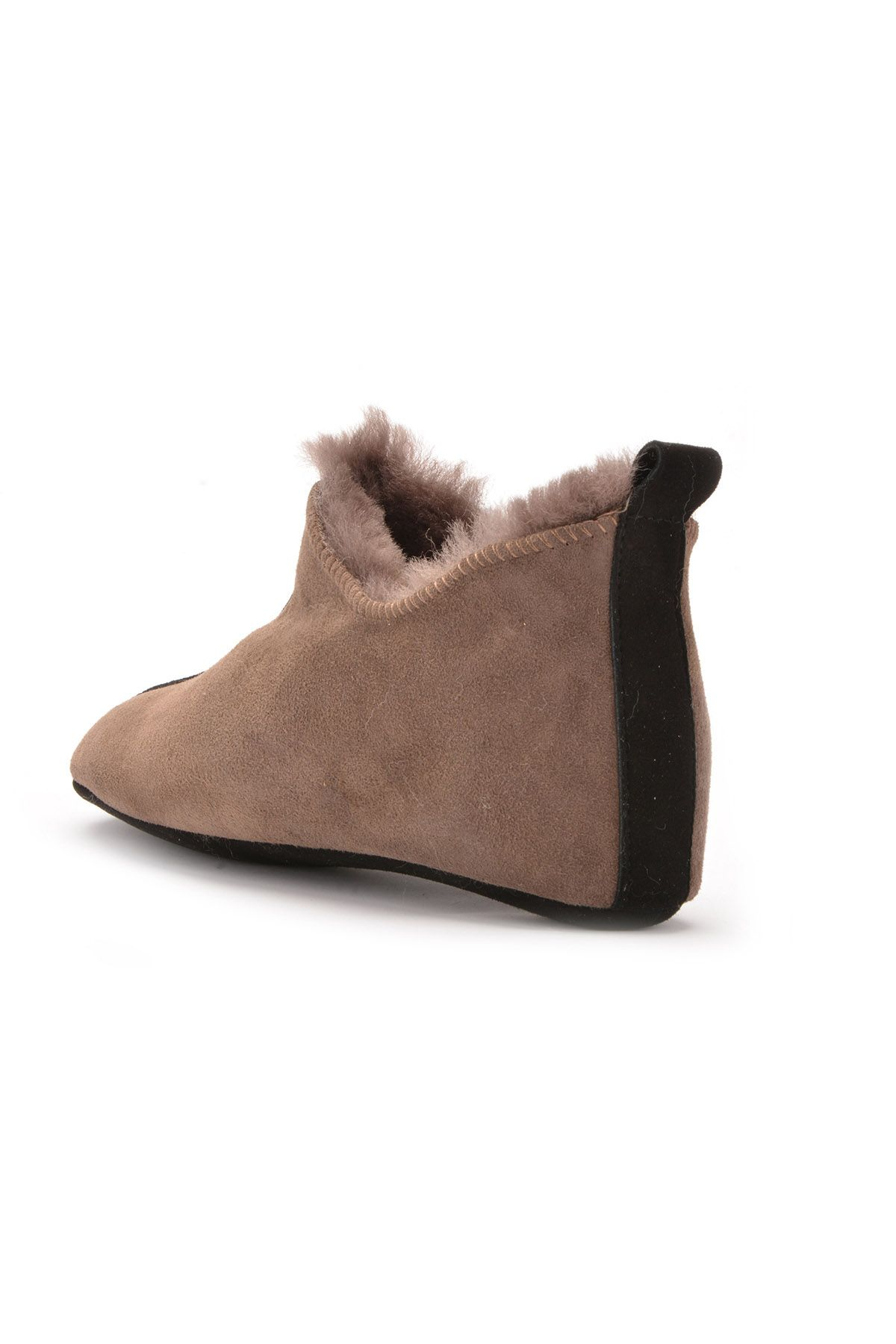 Pegia Women House-shoes From Genuine Fur Brown