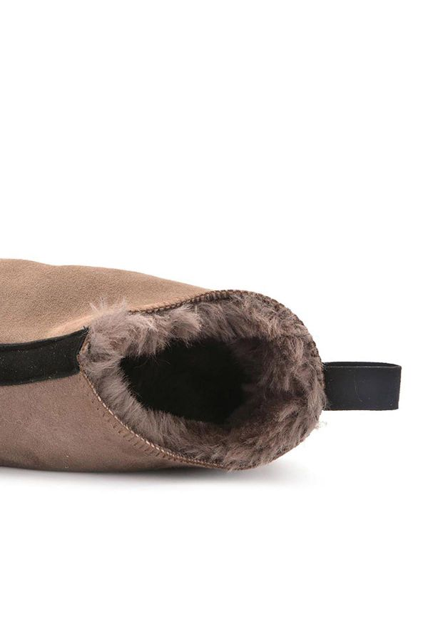 Pegia Men House-Shoes From Genuine Fur Mink