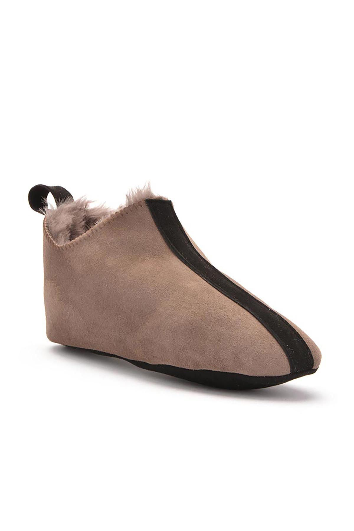 Pegia Kids House-Shoes From Genuine Fur Mink
