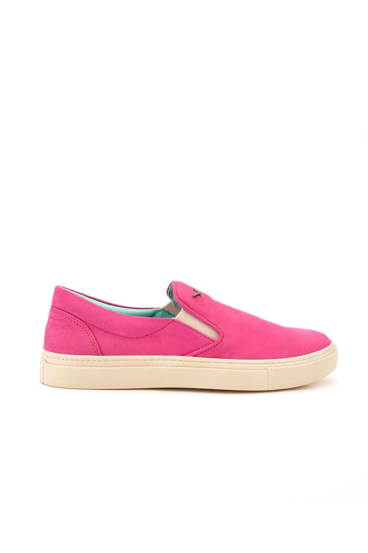 Art Goya Women Sneakers From Genuine Leather And Nubuck Magenta