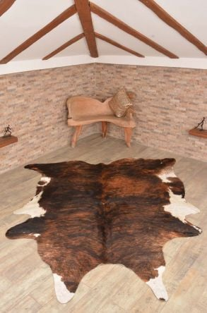 Ergogan Deri Rug From Genuine Buffalo Leather Natural