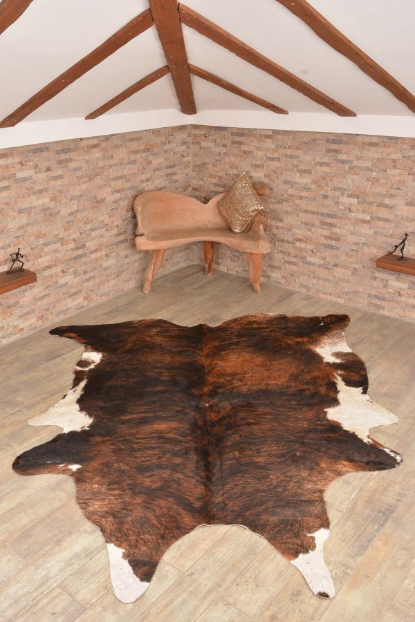 Ergogan Deri Rug From Genuine Buffalo Leather Natural