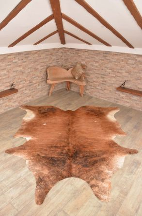 Ergogan Deri Rug From Genuine Buffalo Leather Brown