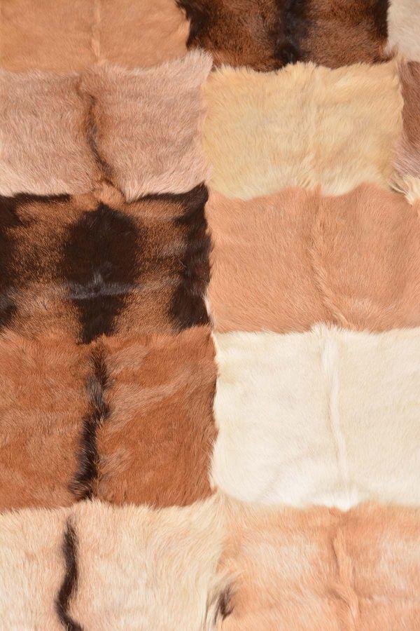 Ergogan Deri Rug From Genuine Goat Hair Natural