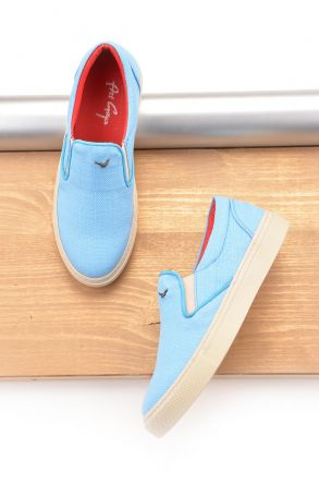 Art Goya Linen Women Sneakers Blue