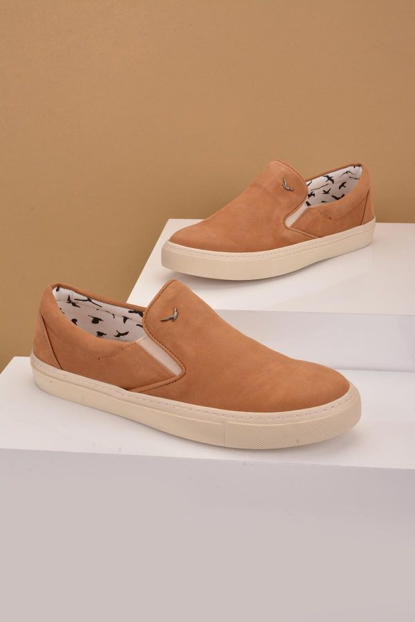 Art Goya Women Sneakers From Genuine Nubuck Brown