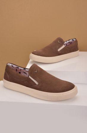 Art Goya Women Sneakers From Genuine Nubuck Brown