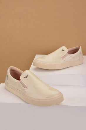 Art Goya Women Sneakers From Genuine Leather Beige