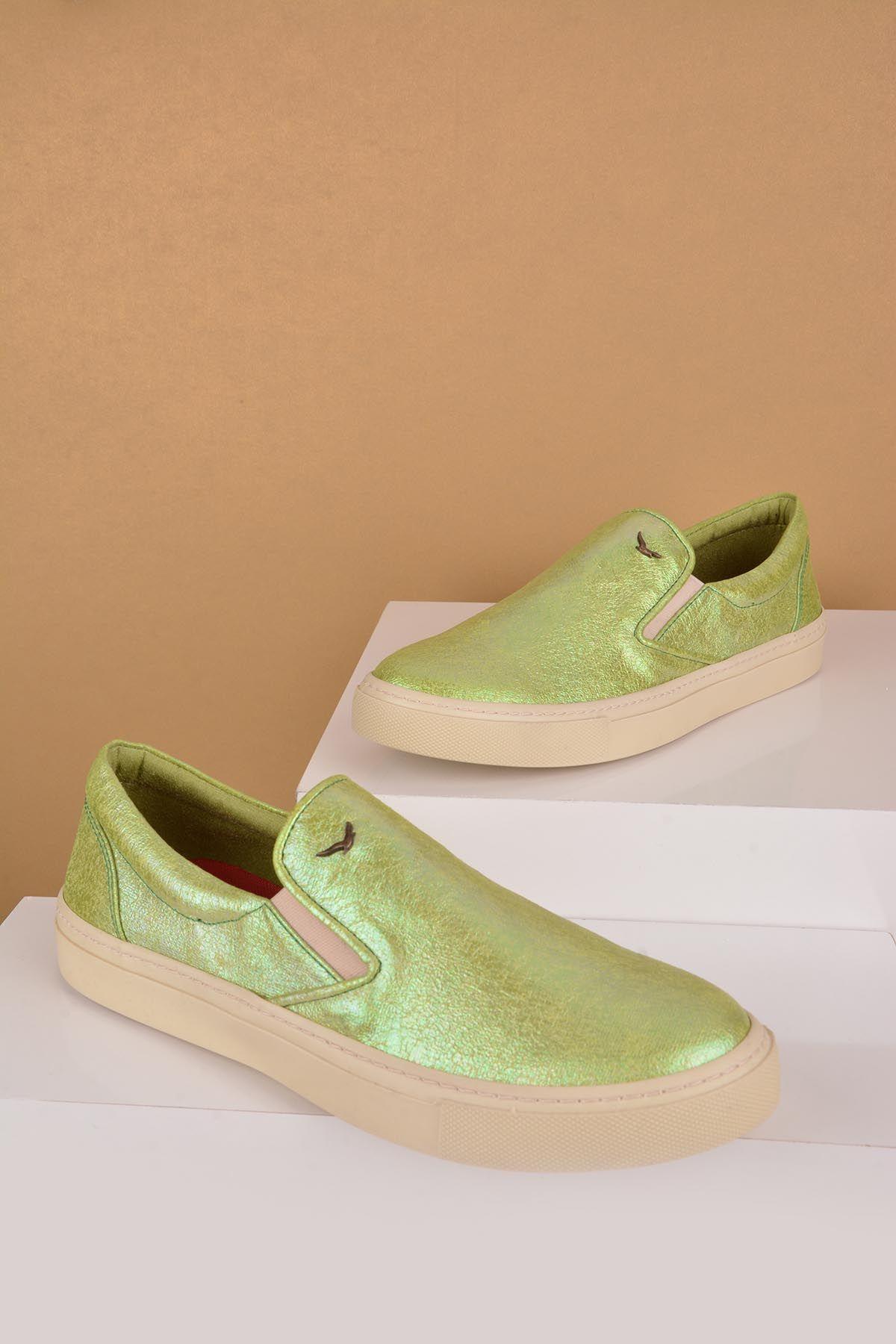 Art Goya Bayan Sneaker  Yeşil