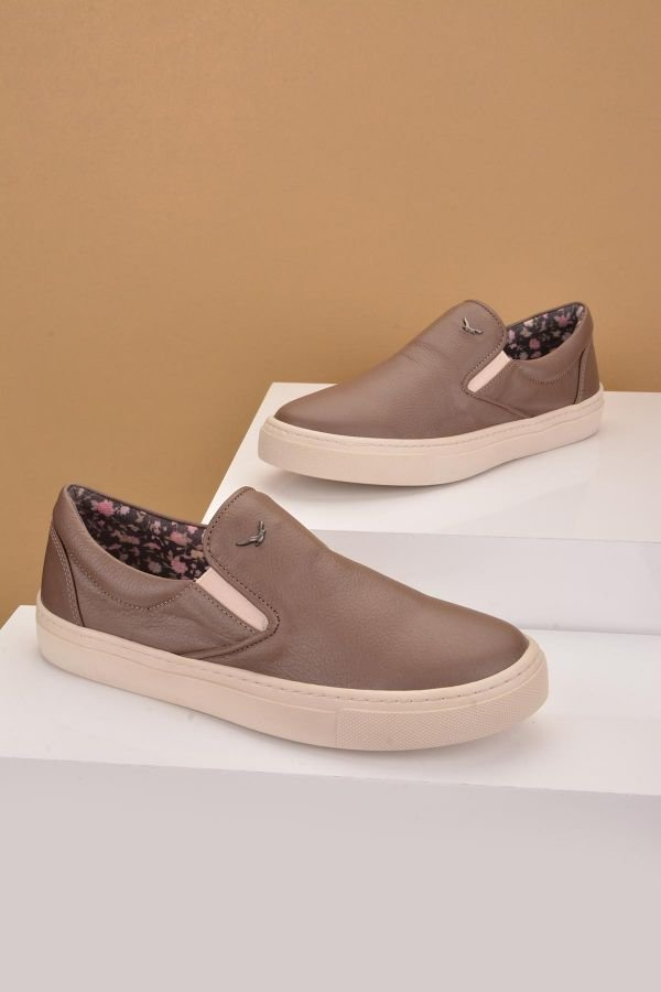 Art Goya Women Sneakers From Genuine Leather Mink