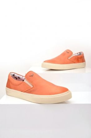Art Goya Women Sneakers From Genuine Leather Ginger