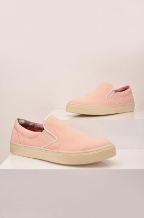 Art Goya Linen Women Sneakers Pink