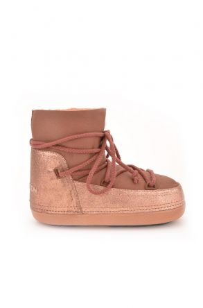 Cool Moon Moonboots From Genuine Sheepskin Ginger