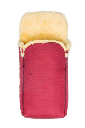 Sheepy Care Детский Конверт Из Натуральной Овчины С Двойной Молнией MDK011 Бордовый
