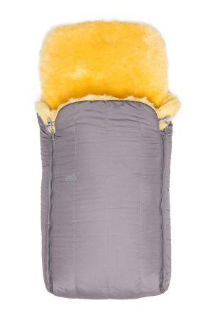 Sheepy Care Bebek Uyku Tulumu Çift Fermuarlı MDK011 Gri