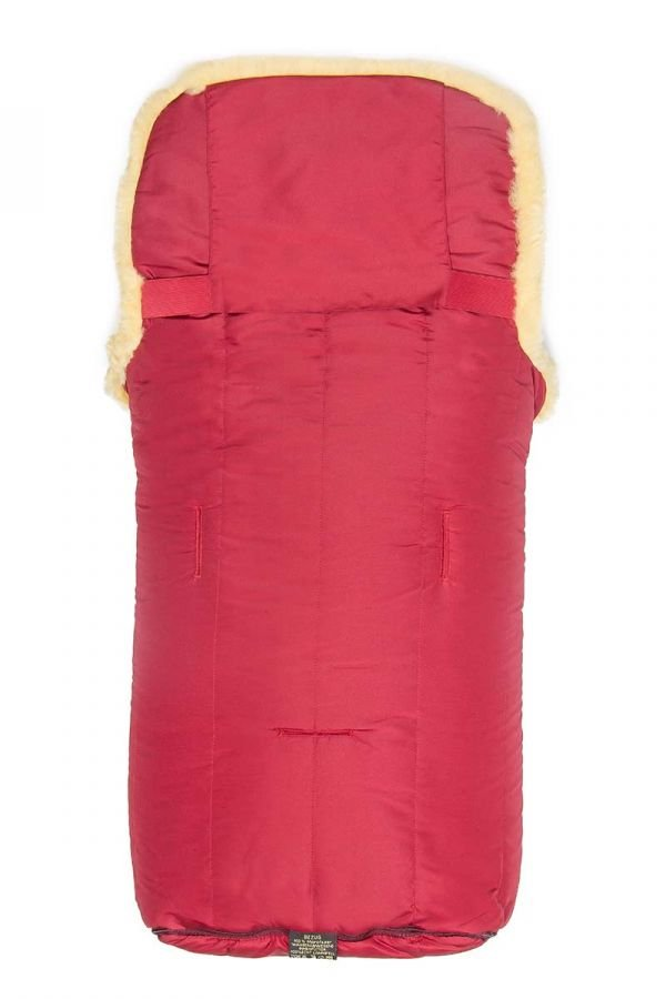 Sheepy Care Double Zippered Baby Sleeping Bag Red