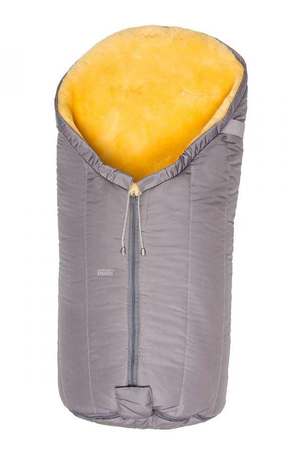 Sheepy Care Zippered Baby Sleeping Bag Gray