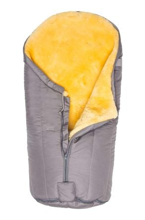 Sheepy Care Zippered Baby Sleeping Bag Gray