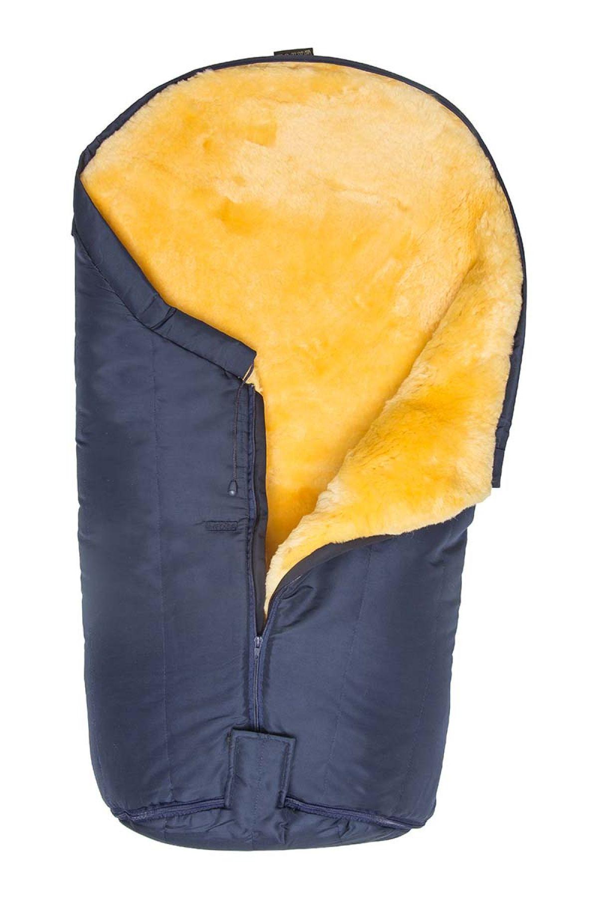 Sheepy Care Zippered Baby Sleeping Bag Navy blue