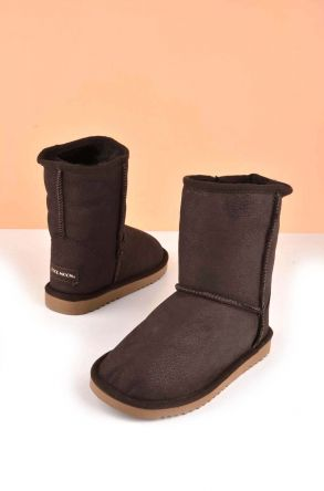 Cool Moon Classic Kids Ugg Style Boots From Genuine Fur Visone