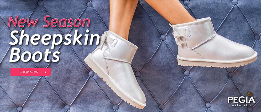 Women shearlng boots